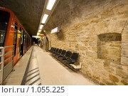 Купить «Станция фуникулёра St. Just Лион Франция», фото № 1055225, снято 7 августа 2009 г. (c) Игорь Киселёв / Фотобанк Лори