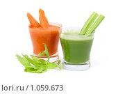 Купить «Сок из сельдерея и моркови», фото № 1059673, снято 25 августа 2009 г. (c) Татьяна Белова / Фотобанк Лори