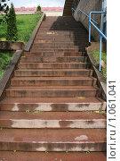 Купить «Городской пейзаж. Гранитная лестница (г. Турку. Финляндия)», фото № 1061041, снято 2 августа 2009 г. (c) Александр Секретарев / Фотобанк Лори