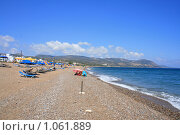 Купить «Кипр. Пляж городка Лаччи», фото № 1061889, снято 28 июня 2009 г. (c) Дамир / Фотобанк Лори