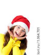 Купить «Девочка в новогоднем колпаке», фото № 1064701, снято 12 августа 2009 г. (c) Анна Игонина / Фотобанк Лори
