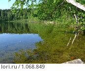 Озеро Багаус - Ильменский заповедник, Челябинская область (2009 год). Редакционное фото, фотограф Алексей Стоянов / Фотобанк Лори
