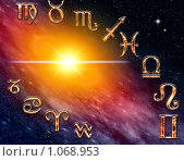 Купить «12 знаков зодиака», иллюстрация № 1068953 (c) ElenArt / Фотобанк Лори