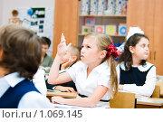 Купить «Ученик начальной школы», фото № 1069145, снято 20 августа 2009 г. (c) Евгений Захаров / Фотобанк Лори