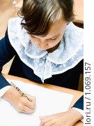 Купить «Ученик начальной школы», фото № 1069157, снято 20 августа 2009 г. (c) Евгений Захаров / Фотобанк Лори