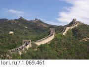 Великая Китайская Стена (2007 год). Стоковое фото, фотограф Всеволод Майский / Фотобанк Лори