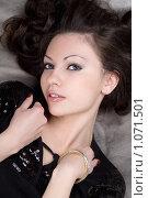 Купить «Портрет девушки», фото № 1071501, снято 17 марта 2009 г. (c) Сергей Сухоруков / Фотобанк Лори