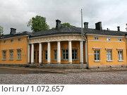 Купить «Городской пейзаж.  (г. Турку. Финляндия)», фото № 1072657, снято 2 августа 2009 г. (c) Александр Секретарев / Фотобанк Лори