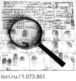 Купить «Отпечатки пальцев», фото № 1073861, снято 8 июля 2009 г. (c) Соловьев Владимир Александрович / Фотобанк Лори