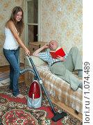 Купить «Домохозяйка», фото № 1074489, снято 6 сентября 2009 г. (c) Яков Филимонов / Фотобанк Лори