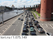 Московские пробки (2009 год). Редакционное фото, фотограф ПАВЕЛ ЧУПРИНА / Фотобанк Лори
