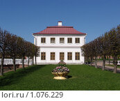 Дворец Марли в Петергофе (2009 год). Редакционное фото, фотограф Елена Бирюкова / Фотобанк Лори
