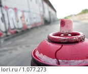 Баллон с краской. Стоковое фото, фотограф Конышев Александр / Фотобанк Лори