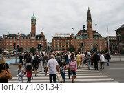 Купить «Дания. Копенгаген. Городской пейзаж.», фото № 1081341, снято 4 августа 2009 г. (c) Александр Секретарев / Фотобанк Лори
