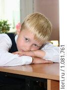 Купить «Первоклассник», фото № 1081761, снято 1 сентября 2009 г. (c) Оксана Гильман / Фотобанк Лори