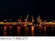 Разводной мост (2009 год). Редакционное фото, фотограф Тарас Туровец / Фотобанк Лори