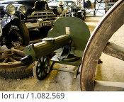 """Пулемёт """"Максим"""" в музее старинной техники (2007 год). Редакционное фото, фотограф Павел Красихин / Фотобанк Лори"""