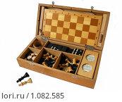 Купить «Настольные игры, шахматы», фото № 1082585, снято 7 сентября 2009 г. (c) Neta / Фотобанк Лори