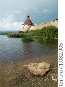 Купить «Крепость Орешек», эксклюзивное фото № 1082905, снято 7 сентября 2009 г. (c) Ольга Визави / Фотобанк Лори