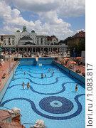 Купить «Будапешт. Купальни Геллерт», фото № 1083817, снято 1 июля 2009 г. (c) Наталья Белотелова / Фотобанк Лори