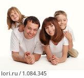 Купить «Счастливая семья», фото № 1084345, снято 7 июня 2009 г. (c) Гладских Татьяна / Фотобанк Лори
