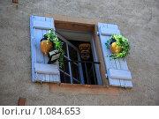 Купить «Горная деревня Гурдон. Окно», фото № 1084653, снято 8 июля 2009 г. (c) Татьяна Лата / Фотобанк Лори