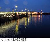 Санкт-Петербург. Дворцовый мост (2007 год). Редакционное фото, фотограф Павел Красихин / Фотобанк Лори