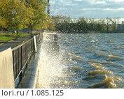 Всплеск воды на пруду. Стоковое фото, фотограф Елена Зорина / Фотобанк Лори