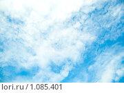 Голубое небо. Облака. Стоковое фото, фотограф Ilogin / Фотобанк Лори