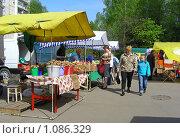 Купить «Колхозный рынок выходного дня», эксклюзивное фото № 1086329, снято 1 мая 2008 г. (c) lana1501 / Фотобанк Лори