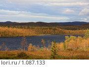 Купить «Осень в тундре», фото № 1087133, снято 5 сентября 2009 г. (c) Андрей Субач / Фотобанк Лори