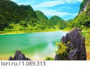 Озеро Тан Хен (Вьетнам) (2009 год). Стоковое фото, фотограф Ольга Хорошунова / Фотобанк Лори