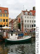 Купить «Дания. Копенгаген. Городской пейзаж.», фото № 1092777, снято 4 августа 2009 г. (c) Александр Секретарев / Фотобанк Лори