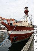 Купить «Дания. Копенгаген. Городской пейзаж.», фото № 1092785, снято 4 августа 2009 г. (c) Александр Секретарев / Фотобанк Лори