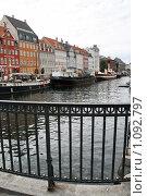 Купить «Дания. Копенгаген. Городской пейзаж.», фото № 1092797, снято 4 августа 2009 г. (c) Александр Секретарев / Фотобанк Лори