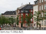 Купить «Дания. Копенгаген. Городской пейзаж.», фото № 1092821, снято 4 августа 2009 г. (c) Александр Секретарев / Фотобанк Лори