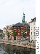 Купить «Дания. Копенгаген. Городской пейзаж.», фото № 1092825, снято 4 августа 2009 г. (c) Александр Секретарев / Фотобанк Лори
