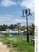 Фонари в Халкидиках (2007 год). Редакционное фото, фотограф Мальцева Наталья / Фотобанк Лори
