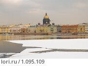 Купить «По Неве. Санкт-Петербург», эксклюзивное фото № 1095109, снято 12 марта 2009 г. (c) Александр Алексеев / Фотобанк Лори