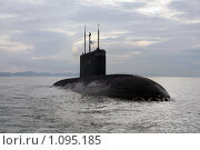 Дизель-электрическая подводная лодка проекта 877 (2008 год). Редакционное фото, фотограф Ямаш Андрей / Фотобанк Лори