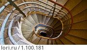 Спиральная лестница. Стоковое фото, фотограф Хижняк Екатерина / Фотобанк Лори