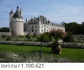 Купить «Замок Шенонсо. Долина реки Луара. Франция», фото № 1100621, снято 6 сентября 2009 г. (c) Дживита / Фотобанк Лори