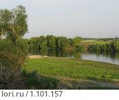 Река Южный Буг. Украина. Стоковое фото, фотограф Сергей Ратушный / Фотобанк Лори