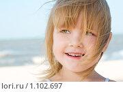 Купить «Портрет девочки», фото № 1102697, снято 8 сентября 2009 г. (c) Анатолий Типляшин / Фотобанк Лори