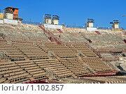 Купить «Театр Арена ди Верона. До прихода зрителей», фото № 1102857, снято 24 мая 2018 г. (c) Сергей Лебедев / Фотобанк Лори