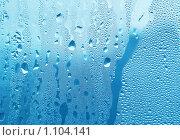 Купить «Капли воды на стекле», фото № 1104141, снято 28 октября 2007 г. (c) Dina / Фотобанк Лори