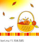 Иллюстрация на тему осени. Стоковая иллюстрация, иллюстратор Алексей Кузнецов / Фотобанк Лори