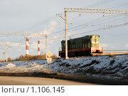 Купить «Маневровый тепловоз», эксклюзивное фото № 1106145, снято 1 января 2009 г. (c) Александр Щепин / Фотобанк Лори