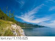 Восточный берег Байкала. Стоковое фото, фотограф Андрей Мелкозеров / Фотобанк Лори