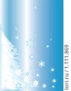 Снежный уголок. Стоковая иллюстрация, иллюстратор Гульнара Магданова / Фотобанк Лори